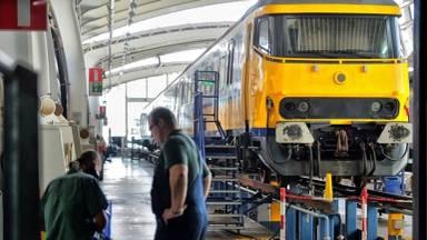 Chroom-6-slachtoffers kwamen door het schuren van treinen in aanraking met de schadelijke stof. (Archieffoto)