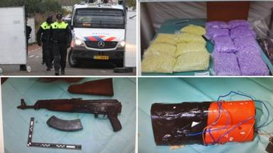 Operatie Alfa in vier foto's: politie, drugs wapens en explosieven