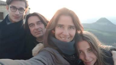 Susanne Kleijssen en haar gezin (foto: Susanne Kleijssen)