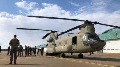 De nieuwste Chinook is geland (Foto: Willem-Jan Joachems)