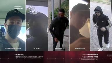 Vijf gezichten achter de bankpasfraude in Brabant