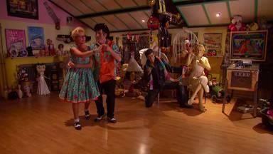 Maria en Toon werden tweede bij De Dansmarathon, maar vrijgevig Nederland sloot ze in het hart