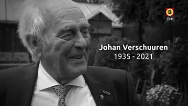 De uitvaart van Johan Verschuuren in Aarle-Rixtel.