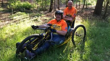 Dankzij zeldzame mountainbike kan Ingrid weer raggen door de bossen