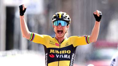 Vos won eerder dit seizoen de Amstel Gold race