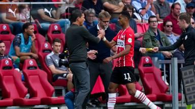 Cody Gakpo werd tegen Feyenoord na een uur gewisseld (Foto: OrangePictures)