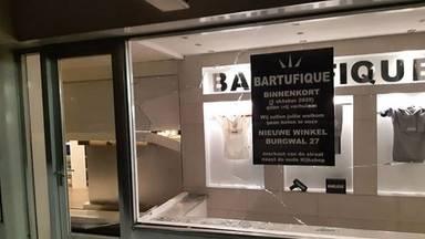 De pui van Bartufique werd ingeslagen (foto: politie Oss/Instagram).