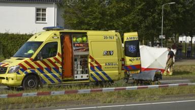 Het ongeluk gebeurde op de Westerparklaan in Breda (foto: Perry Roovers / SQ Vision).