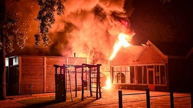 Weer brand bij een basisschool in Oss, nu bij Het Baken