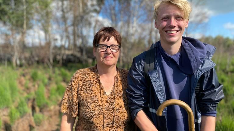 Wilmie Mennen en Kasper Gielen (foto: Jan Peels).