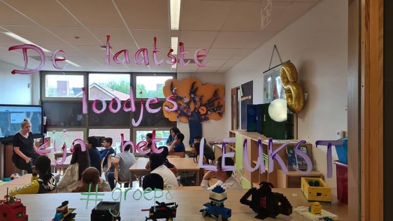 Alle leerlingen zijn weer aanwezig bij basisschool Het Noorderlicht in Breda (foto: Noël van Hooft).