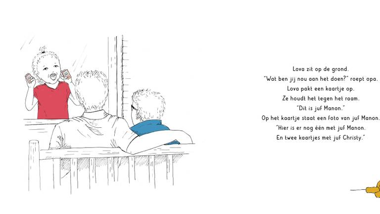 Een stukje uit het boek over Tommie en Lova.