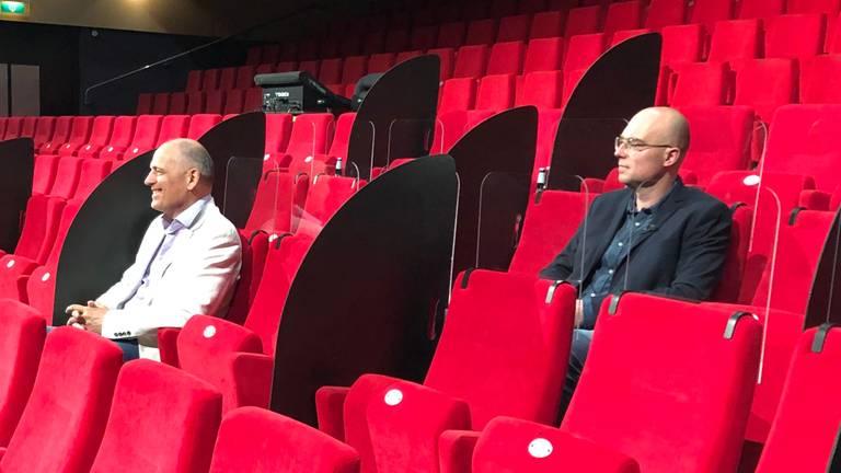 Zo zitten theaterbezoekers er straks in Uden bij.