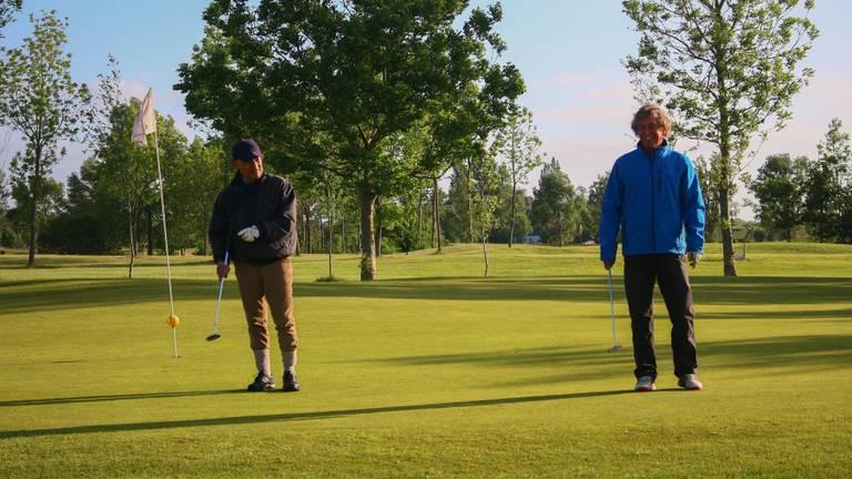 Er kan weer gegolft worden op Golfpark Almkreek (foto: Golfpark Almkreek).