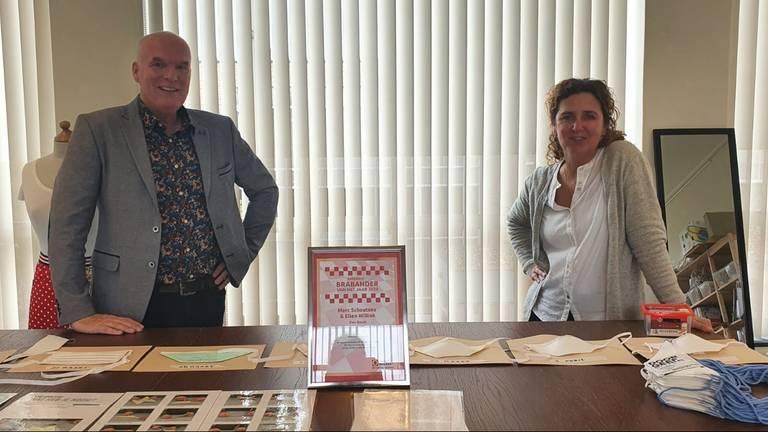 Het Brabant Mondmasker Initiatief zorgde voor duizenden gratis mondkapjes