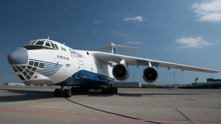Een Ilyushin Il-76 (foto: Silk Way Airlines).