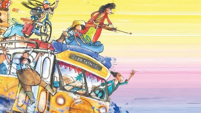 De cover van 'Oma Luchtbuks'.