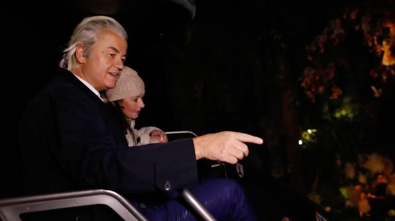 Geert gaat snel weer in de Droomvlucht (foto: ANP).