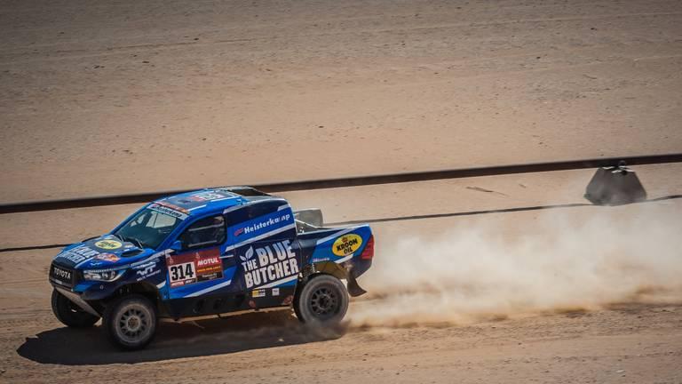 Erik van Loon in de Dakar Rally (foto: Robin Verheggen).