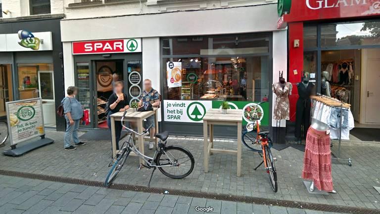 De SPAR aan de Ginnekenstraat (foto: Google Maps)