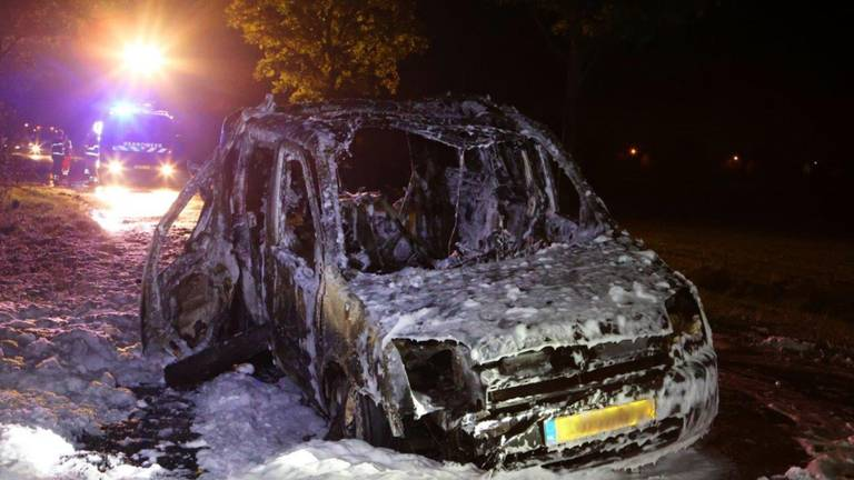 Gasfles ontploft in bestelbus: 'Imperiaal en dak auto werden weggeblazen'