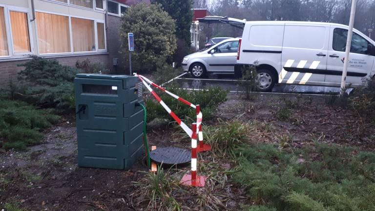 De monsterkast (foto: waterschap Aa en Maas).
