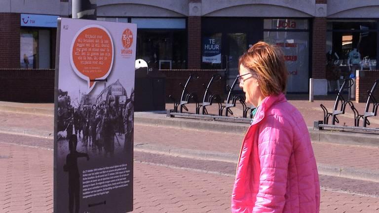 De borden over de Tweede Wereldoorlog trekken de aandacht in Gilze en Rijen.