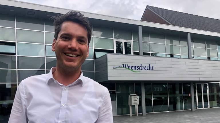 Wethouder Jeffrey van Agtmaal van de gemeente Woensdrecht (Foto: Erik Peeters)