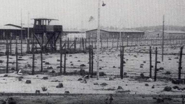 Het beruchte krijgsgevangenkamp Stalag Luft III (Foto: Museum Obozów).