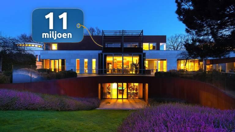 Deze villa in Uden is te koop voor 11 miljoen euro.