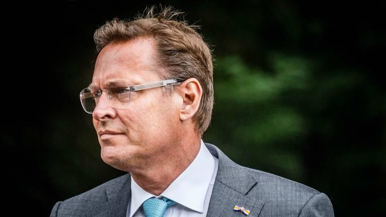 Albert Verlinde gaat de gemeenteraad van Vught in (foto: Rob Engelaar/Infocus Media).