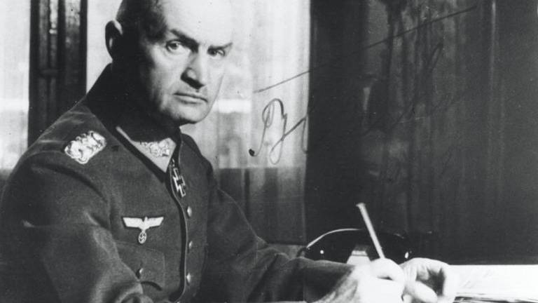Generaal Johannes Blaskowitz (foto: Bundesarchiv)