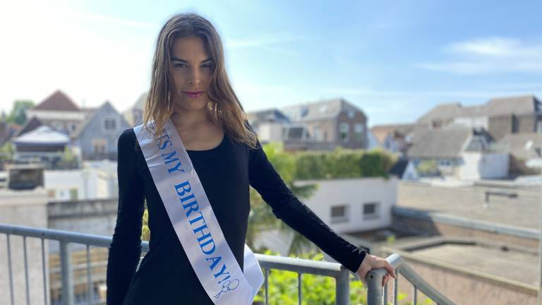 Kim Verstappen uit Den Bosch Miss Gay Holland 2020 (foto: Jan Peels).
