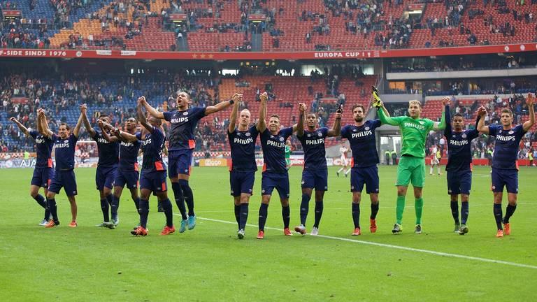 4 oktober 2015: de laatste keer dat PSV won bij Ajax (foto: Orange Pictures).