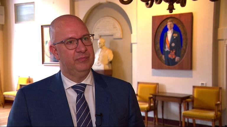 Burgemeester Jack Mikkers (foto: Omroep Brabant).