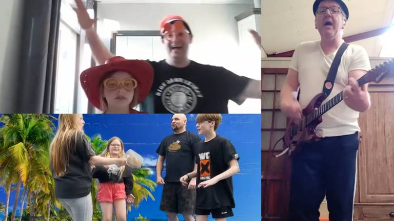 Fans en de band maken er wat van samen (foto: WC Experience / Facebook).