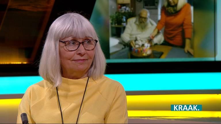 Gerry Diederen, in KRAAK. (foto: Omroep Brabant).