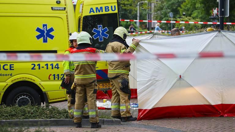 Arie den Dekker overleed nadat hij zichzelf in brand stak (foto: Gabor Heeres/SQ Vision).
