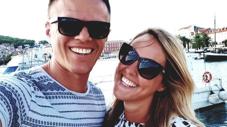 Davor en Anita voor het ongeluk (foto: ETZ).