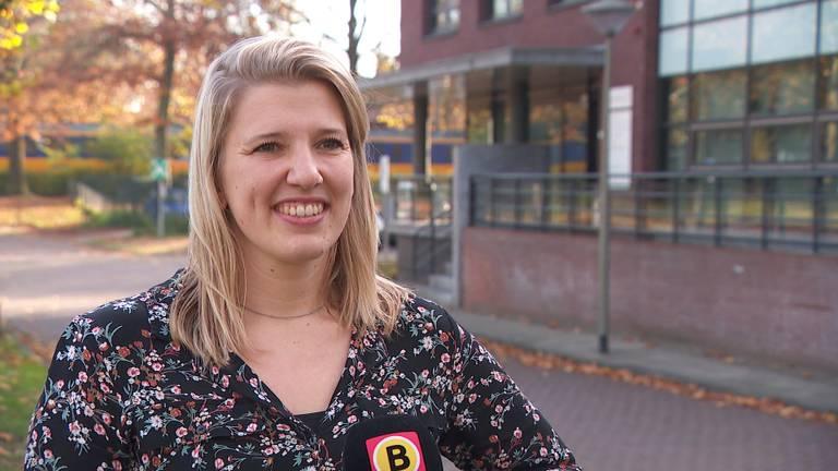 Daniëlle Ketelaars, preventiewerker van Novadic-Kentron (Foto: Omroep Brabant).