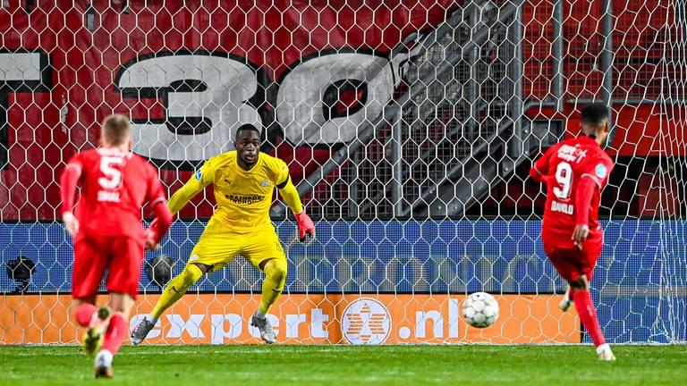 PSV speelt met 1-1 gelijk tegen FC Twente (foto: ANP).