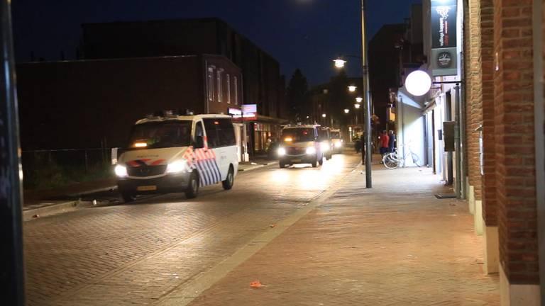 Ongeregeldheden in Helmond. (Archieffoto)