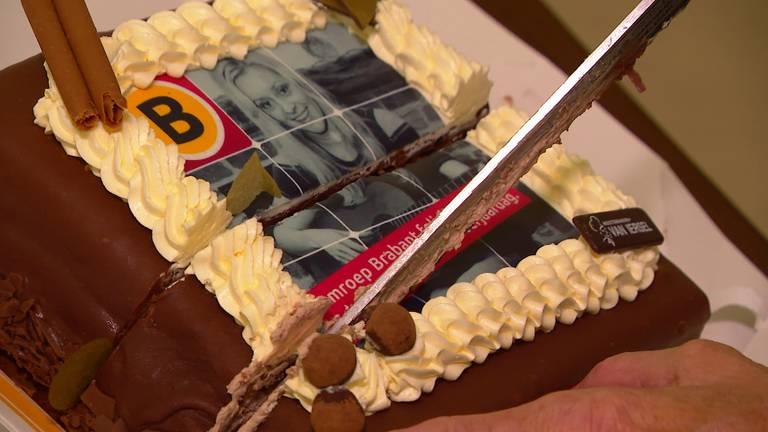 Corrys verjaardagstaart. (foto: Omroep Brabant)