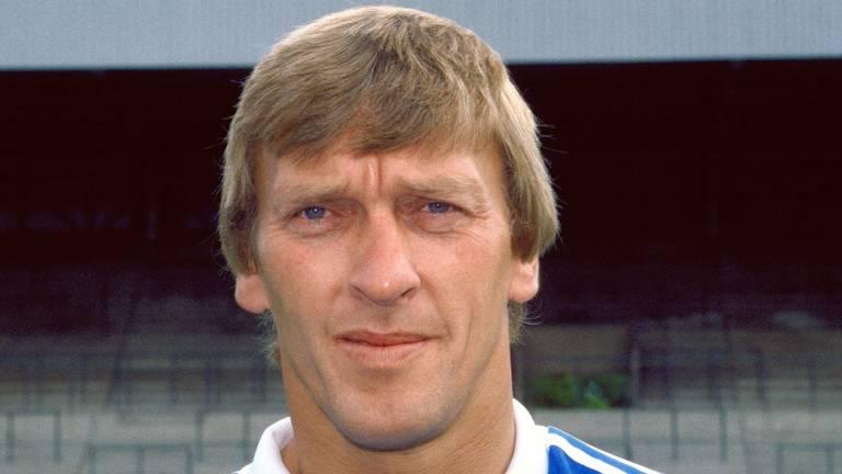 Pim Doesburg in 1985 toen hij keeper was van PSV