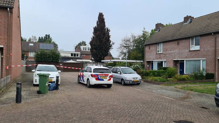 De situatie in Boxmeer de ochtend na de schietpartij.