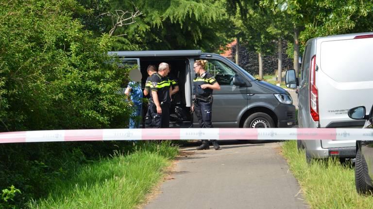 Drie verdachten zijn opgepakt in juni in Zundert. (foto: Perry Roovers/SQ Vision)