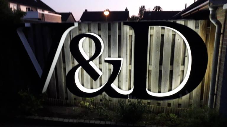 De 'V' moet nog worden gemaakt (foto: Ruud de Bruin).