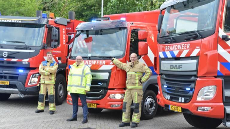 Van links naar rechts; Daan van der Steijn, Walter van Bussel, Theo Vermeulen. (Foto:Theo Vermeulen)