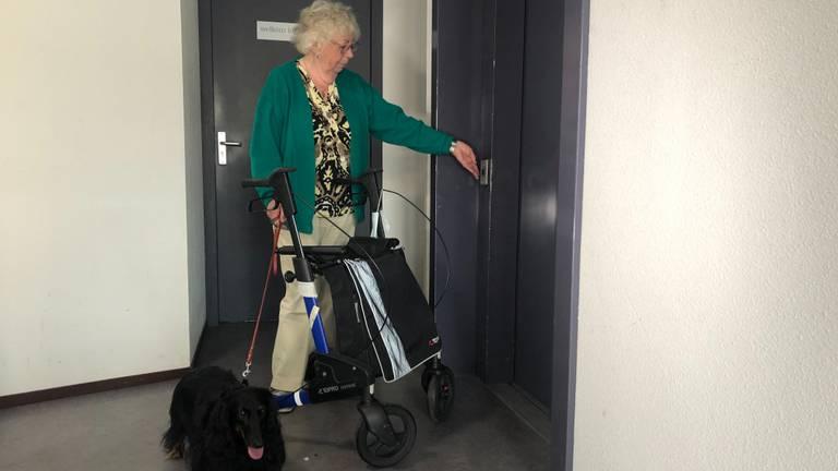 De lift van het wooncomplex in Bergeijk is kapot