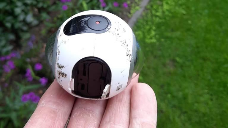 De bewuste 360-graden-camera (foto: Doris Martens)